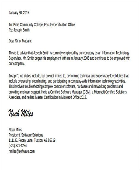 work experience letter word format gallery letter examples ideas