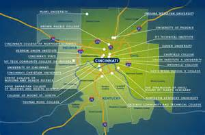 colleges and universities map maps higher learning department of community