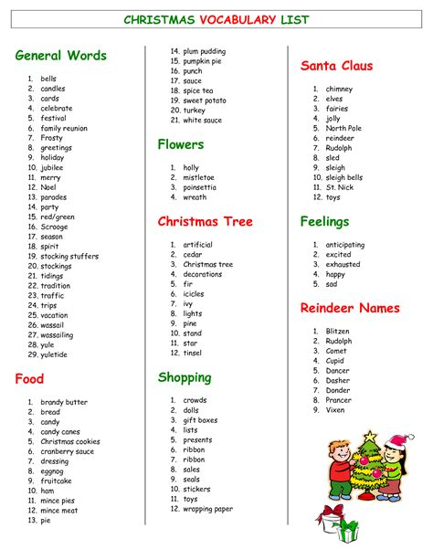 christmas word list pictures to pin on pinterest pinsdaddy