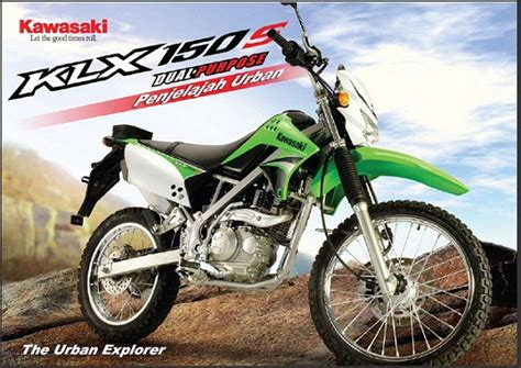 Promo Master Klx 150 kawasaki klx 150 s tipe trail cv zona perkasa motor