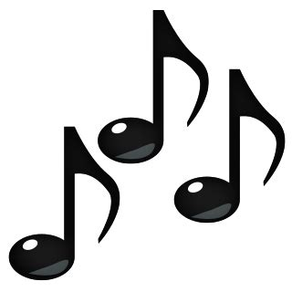 singing emoij png notes emojidex custom emoji service and apps