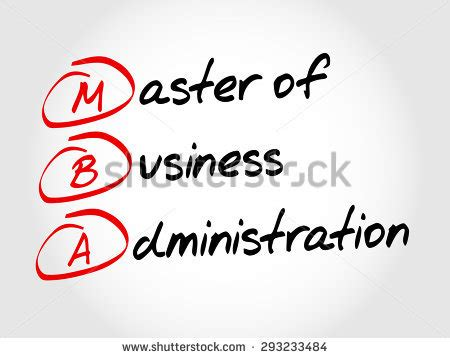 Mba Finance Acronyme by Mba Stock Vectors Vector Clip