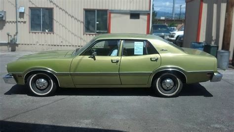 Maverick Doors by One Owner With 47 000 1974 Ford Maverick