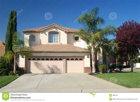 home in california house in california stock photo image of suburbs 385218