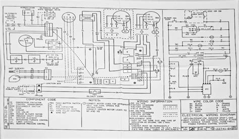 ruud air handler wiring diagram goodman air handler