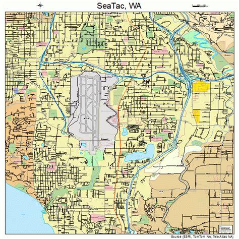 wa map seatac washington map 5362288