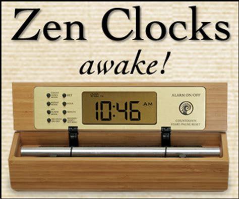 gentle chime alarm clocks now zen