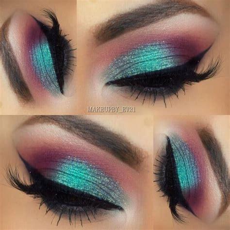 Eyeshadow Viva Orange best 25 turquoise eye makeup ideas only on