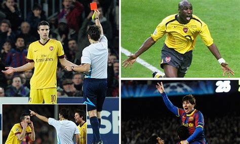 arsenal chions league history arsenal vs barcelona in the chions league the full