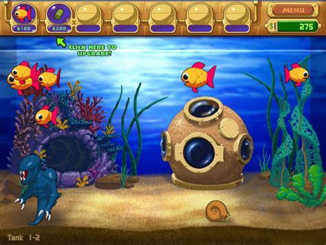 fish computer game cartoon insaniquarium download