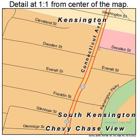 kensington md south kensington maryland map 2473600