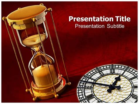 Time Value Powerpoint Template Powerpoint Slide Template Powerpoint Microsoft Powerpoint Templates Time