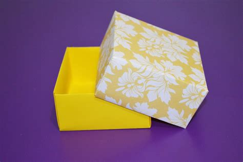 Paper Boxes To Make - how to make your own paper box easy