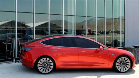 tesla boosted ahead of model 3 electric car launch