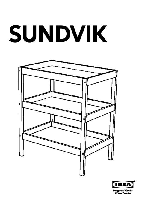Sundvik Changing Table Sundvik Changing Table Black Brown Black Ikea United States Ikeapedia