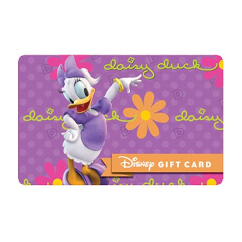 Gift Cards Fab - your wdw store disney collectible gift card fab 6 daisy