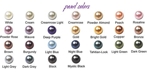 pearl color all you need to about pearls rainbow minerals