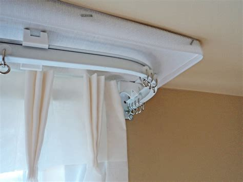drapery installation curved curtain rod for bow window best free home