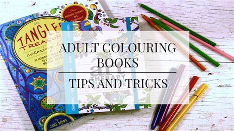 coloring tips colouring books tips and tricks