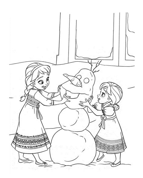 frozen coloring pages and activities frozen coloring pages 7 coloring kids
