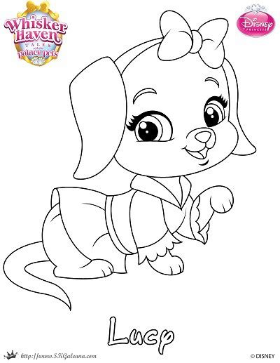 coloring pages of palace pets disney s princess palace pets free coloring pages and