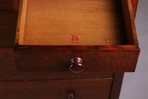 Stickley Dresser For Sale by Gustav Stickley Five Drawer Dresser California
