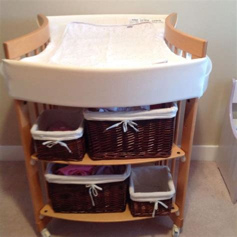 Childcare Change Table Find More Euc Stokke Care Change Table Baskets Not Included For Sale At Up To 90