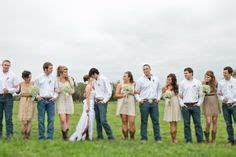 country wedding groomsmen vests  jeans  country