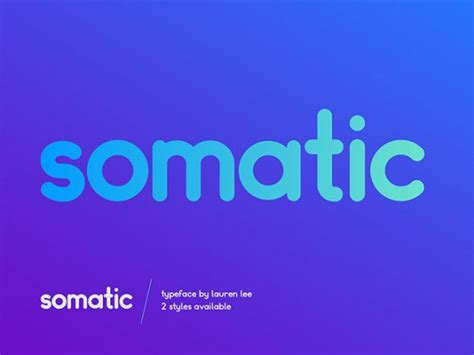 design font round somatic rounded a free font ideal for logotypes freebiesbug