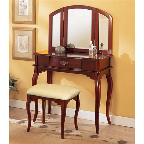bedroom vanities with mirrors black bedroom vanity with tri fold mirror home delightful