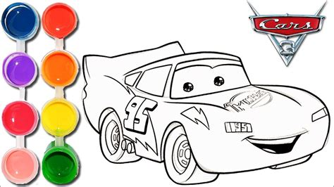kid car drawing how to draw color cars 3 lightning mcqueen drawing