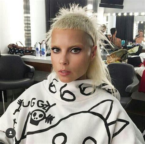 zef haircuts yolandi die antwoord despite her strange hairstyle i