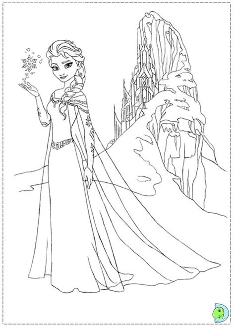 Frozen Dot To Dots Coloring Pages Coloring Page Frozen