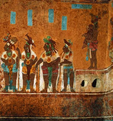 National Geographic Wall Mural beyond apocalypto what maya empire looked like