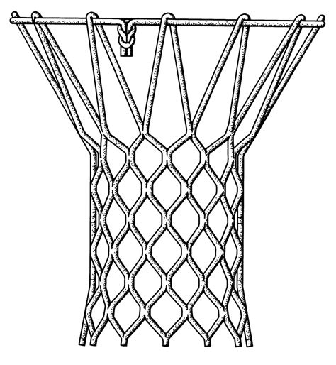 basketball net clipart how to draw a basketball net pencil drawing