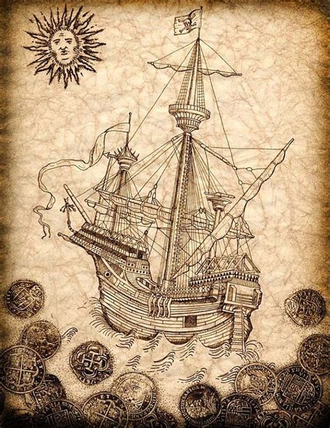 spanish story of art 0714856622 17 best ideas about pirate ship drawing on pirate tattoo no tattoos and ace tattoo
