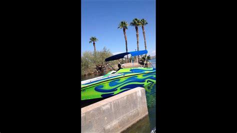 havasu boat r fails boat crash lake havasu youtube