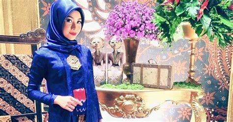 foto tutorial hijab  kebaya kutubaru