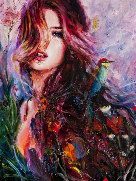painting artist my favorite painter charmaine honeythatsok