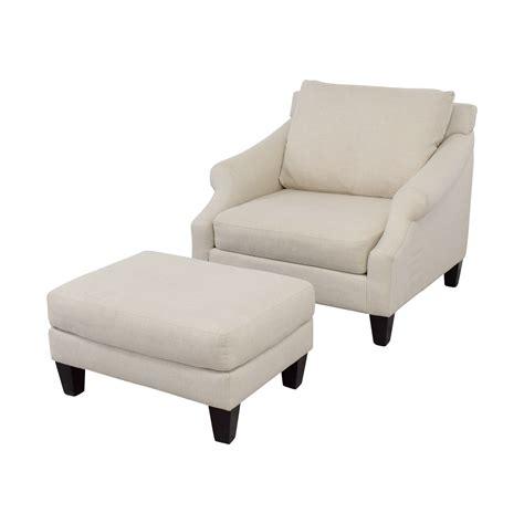 Raymour And Flanigan Ottoman 45 Raymour Flanigan Raymour Flanigan Beige Chair And Ottoman Chairs