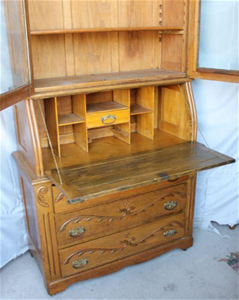 Bargain John S Antiques 187 Blog Archive Antique Oak Drop Antique Drop Front Desk With Bookcase