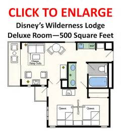 villas at wilderness lodge floor plan review deluxe rooms at disney s wilderness lodge