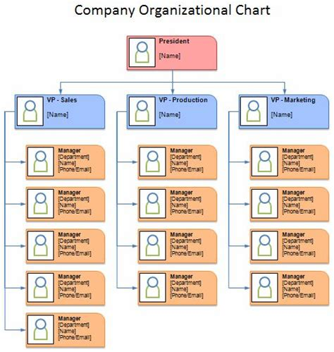 organizational chart template doc the world s catalog of ideas