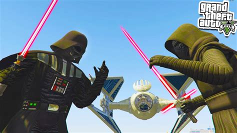 gta 5 starwars mod gta 5 darth vader vs kylo ren gta 5 star wars mod gta