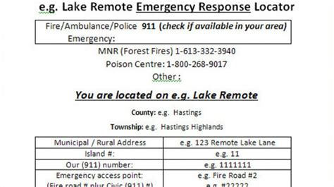 boating accident ontario september 2018 emergency response in remote areas be prepared foca