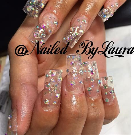 Rhinestone Clear clear nails with rhinestones best nail designs 2018