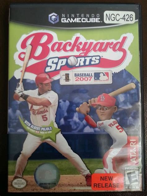backyard sports baseball 2007 192 best images about game systems nintendo gamecube on