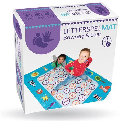 speelgoed voor 6 jarige letterspelmat beweeg en leer