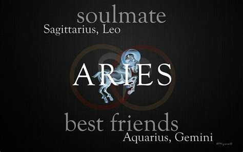 aries soulmate is sagittarius leo best friends are