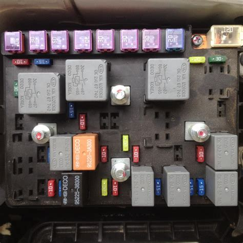 06 kia spectra fuse box wiring diagram with description